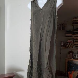 Olive green Sonoma dress